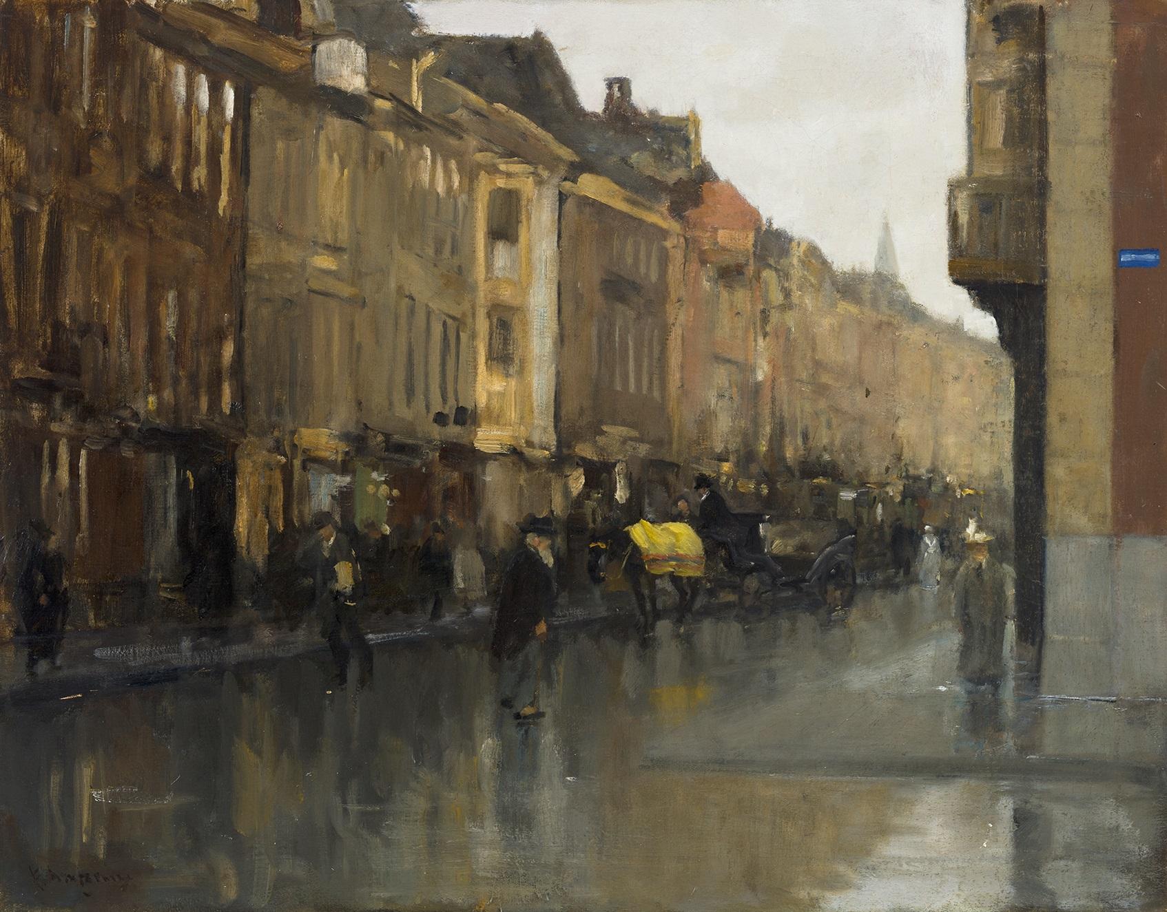 Arntzenius Gezicht op het Noordeinde in Den Haag